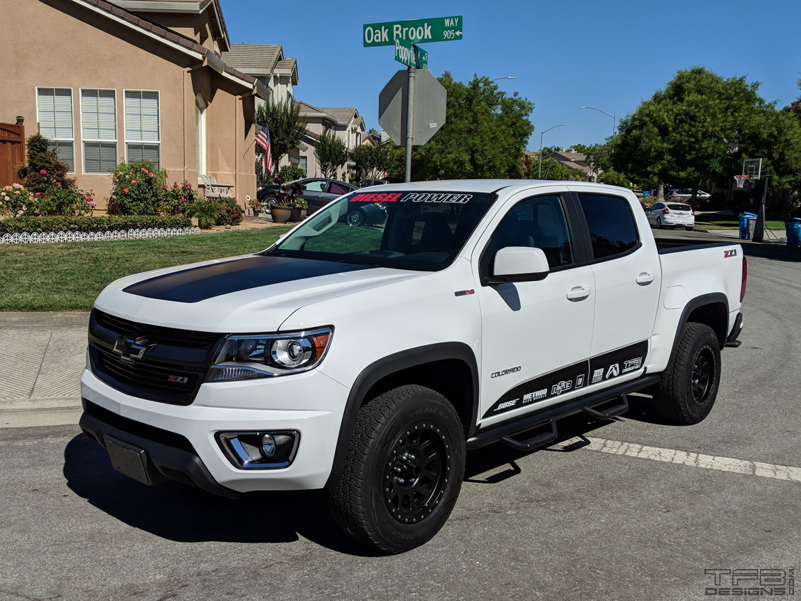 Side Stripes for 2015-2019 Chevy Colorado and GMC Canyon ...