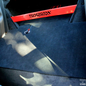 Rear Seat Delete Template 2006-2011 Honda Civic / Si Coupe