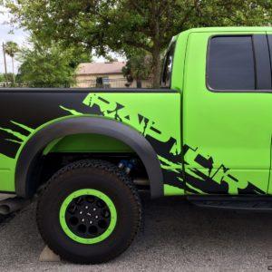 Full Side Graphics Kit for 2010 – 2014 Ford Raptor Super Cab