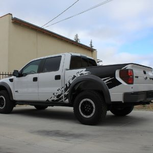 Full Side Graphics Kit for the 2010 – 2014 Ford Raptor Crew Cab