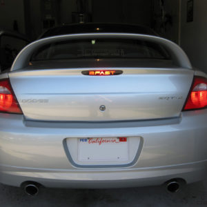 Rear Brake Light Decal fits 2003-2005 Dodge Neon SRT-4