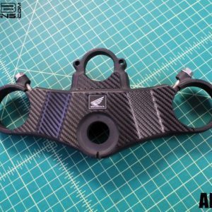 Carbon Fiber Triple Clamp Decal for the 2000-2001 Honda CBR929RR