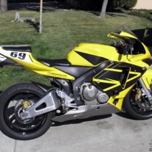 Full Wing Graphics Kit- fits the 2003-2004 Honda CBR600RR 600RR