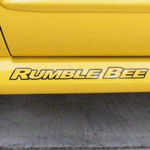 Rumble Bee Decals – fits Dodge RumbleBee 18 Inch Logo Decals