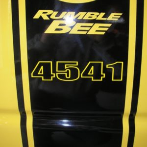 Build Number Decals – fits Over Dodge Rumble Bee Stripes