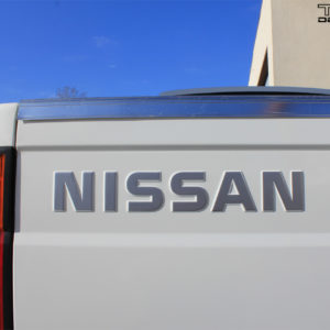 Replacement Tailgate Decal – fits the Nissan D21 Hardbody Pickup