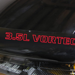 Vortec Decal – 3.5L, 3.7L, or 4.3L GMC Canyon / Chevy Colorado S10