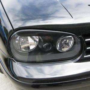 Headlight Eyelids fits 2000-2005 Volkswagen GTI / Golf 00-05