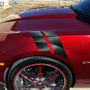 Fender Stripes for 2010-2015 Chevrolet Camaro Chevy RS SS ALL