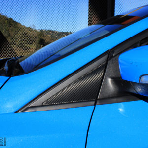3M Carbon Fiber Triangle Decals- 2015-2018 Ford Focus Hatchback