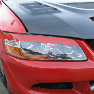Headlight Eyelids fits 2003-2006 Mitsubishi Evolution EVO 8 / 9