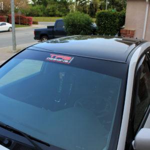 Windshield Banner fits 2003-2006 Mitsubishi Evo 8 & Evo 9