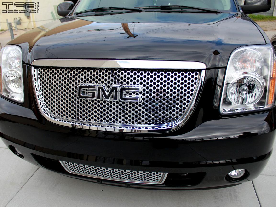 Gmc Emblem Overlay Decal Gmc Canyon Yukon Denali Tfb Designs