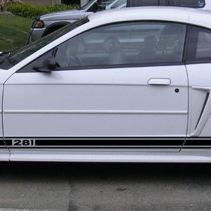 Side Stripes – 1999-2004 Ford Mustang / GT 99-04 – Stripe Kit