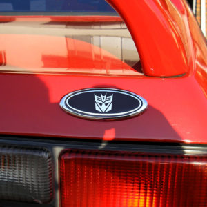 Emblem Decal fits 1987-1993 Ford Mustang – Logo of Your Choice