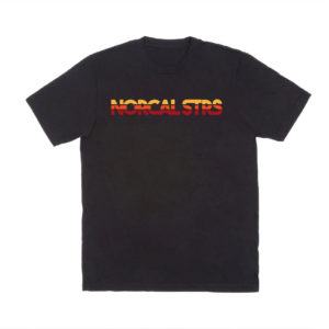 Nor Cal ST RS Club Sunset Style T Shirt – Black
