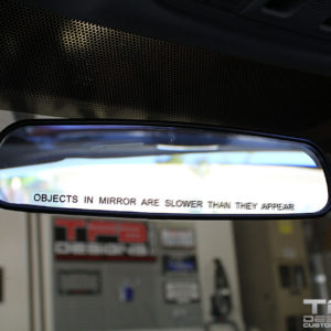 Objects in Mirror are Slower Than They Appear Vinyl Decal