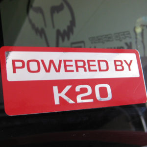 Powered by Decal K Series / B Series K20 K24 B16 B18 H22 K20Z3