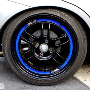 Rim Lip Decals for Enkei RPF1 Wheels 15, 16, 17, or 18 Inch