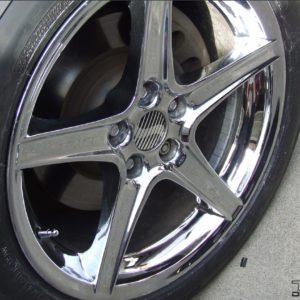 Wheel Center Cap Decals – fits Ford Mustang Saleen S281 S351