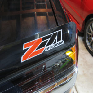 Z71 Off Road Decal GMC Canyon Chevy Tahoe Silverado 6″