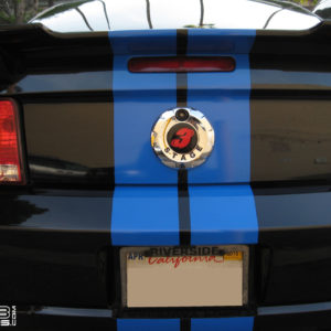 Rear Emblem Decal- fits the 2005-2009 Ford Mustang GT