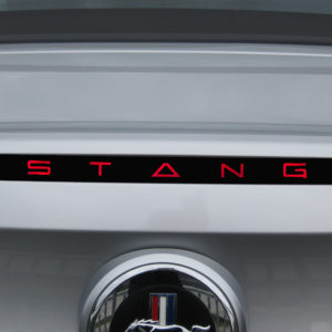 Third Brake Light Decal for 2005-2013 Ford Mustang