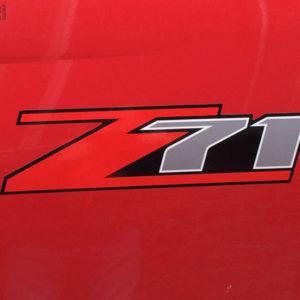 Z71 Decal 6″ Long – GMC Canyon Chevy Colorado Silverado Tahoe