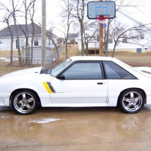 SSC Door Decals fits Ford Mustang / Fox Body / Saleen