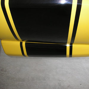 Lower Side Stripe Extensions – fits Dodge Rumble Bee
