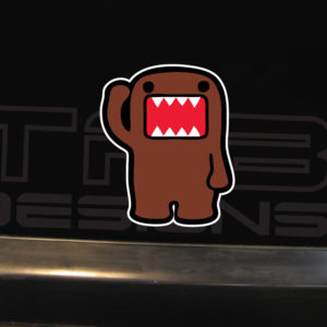 Domo JDM Decal – FULL COLOR – JDM Decal Vinyl Car Sticker