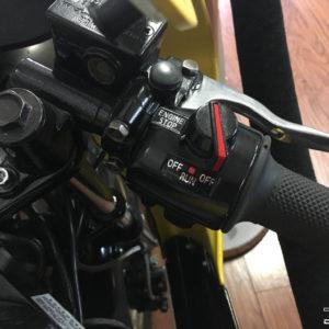 Handlebar Control Decals 1987-1992 Yamaha YSR50 YSR80 YSR 50 80