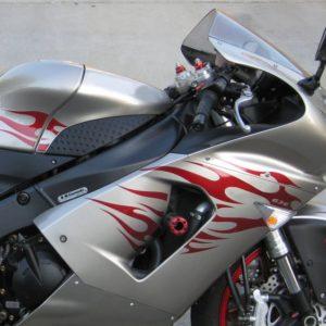 Full Tribal Graphics Kit- 2005-2006 Kawasaki Ninja ZX6R 636 ZX-6