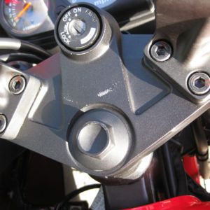 Carbon Triple Clamp Decal – 2008-2012 Kawasaki Ninja 250R 250 ZX250