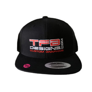 TFB Designs Embroidered Hat – High Quality Caps – Several Styles