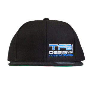 TFB Designs Side Panel Logo Embroidered Hat – High Quality Cap