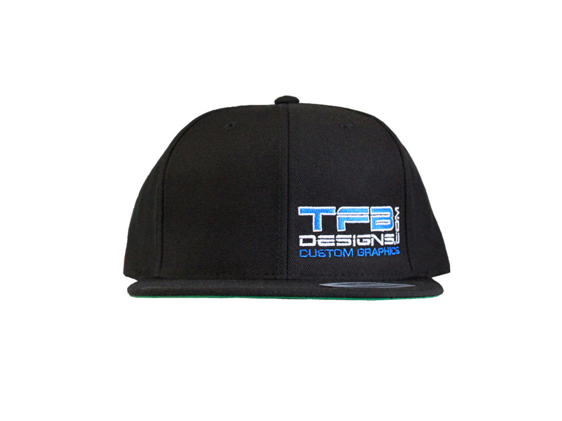 Tfb Designs Side Panel Logo Embroidered Hat High Quality Cap