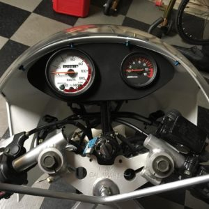 YSR80 Speedometer Decal 1987-1992 Yamaha YSR 80