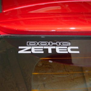 Zetec DOHC Small Decal – 00-04 Ford Focus – 6 Inch Many Colors