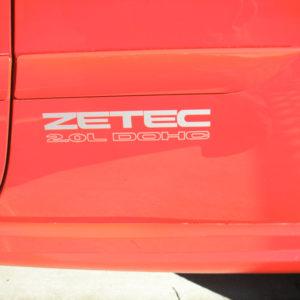 ZETEC 2.0L DOHC Decal Set