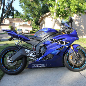 2006-2007 Yamaha R6 Special Edition Style Graphics 06-07