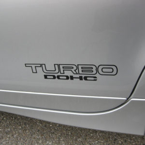 TURBO DOHC Decals – Many Colors – 2 High Quality Vinyl Stickers