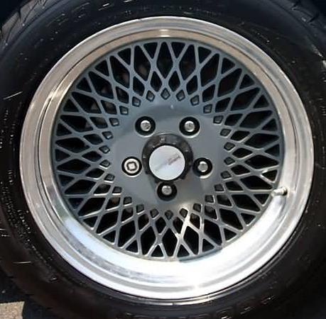 Saleen center cap decals Ford Mustang fox body