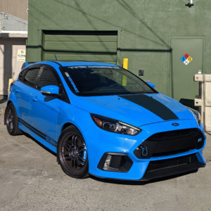 Ford Focus Hood Decal – fits 2015-2018 Focus ST RS