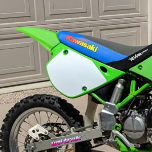 Number Plate Backgrounds 1991-1997 Kawasaki KX80 / KX100