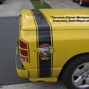 Factory Bed Stripes – fits Dodge Rumble Bee – Black or Yellow