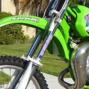 Up Side Down Fork Decals 1991-1997 Kawasaki KX80 / KX100