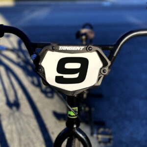 Wide Number Decal – Race Car, Dirt Bike, BMX Racing