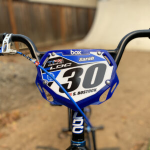 Custom BMX Number Plate Background for Box Pro Plate (Large Size)